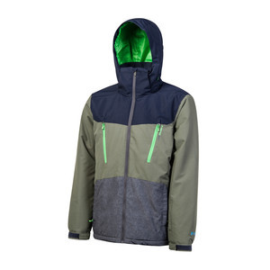 Protest Tailgrab Snowboard Jacket - Forest
