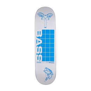 "Quasi Crockett Bass 8.25"" Skateboard Deck - White"