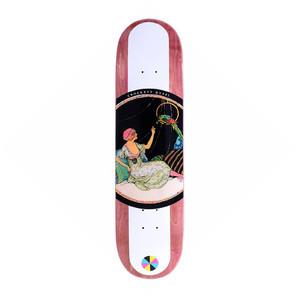 "Quasi Crockett Birds 8.125"" Skateboard Deck - Maroon"