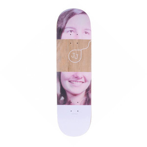 "Quasi Mother Catherine 8.5"" Skateboard Deck - Brown"