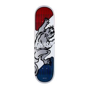 """Quasi Johnson Penn 8.0"""" Skateboard Deck - Red"""