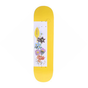 "Quasi Mother Lux 8.25"" Skateboard Deck - Yellow"