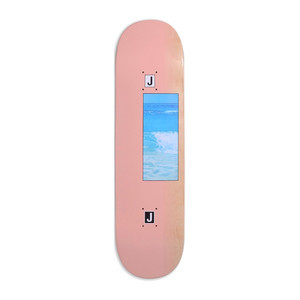 "Quasi Johnson Ocean 8.5"" Skateboard Deck - Rose"