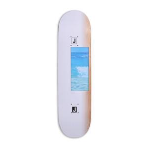 """Quasi Johnson Ocean 8.125"""" Skateboard Deck - White"""