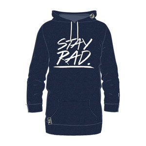 RAD Stay Rad Hoodie – Navy