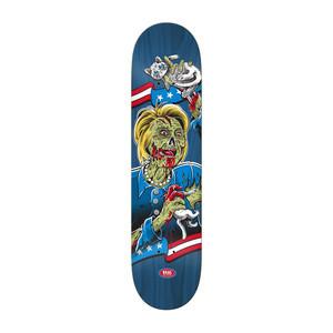 "Real Running Dead 8.5"" Skateboard Deck - Hillary Clinton"