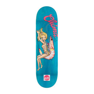 "Real Chima Skewered 8.25"" Skateboard Deck"