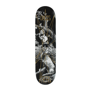 "84bb7ce5256588 Real Davis Happy Forest Friend 8.18"" Skateboard Deck"