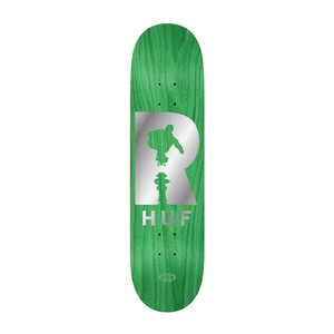 "Real HUF Hydrant 8.25"" Skateboard Deck - Green"