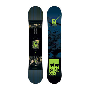Rome Factory Rocker 155 Snowboard 2018
