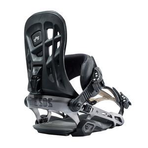 Rome 390 Boss Snowboard Bindings 2019 - Black