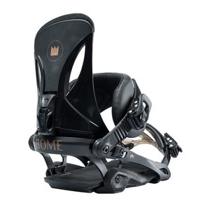 Rome Madison Boss Women's Snowboard Bindings 2019 - Black