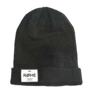Rome Bank Robber Beanie - Black