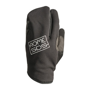 Rome Men's Snowboard Trigger Mitts - Black