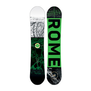 Rome Agent Rocker 158 Midwide Snowboard 2017
