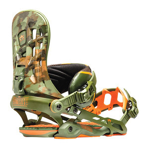 Rome 390 Boss Snowboard Bindings - Camo