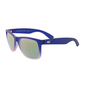 Sandbox Nomad Sunglasses - Purple Fade / Blue Chrome