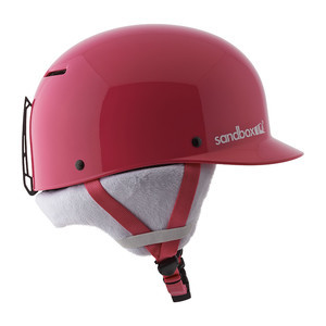 Sandbox Classic 2.0 Kids' Snowboard Helmet - Bubblegum