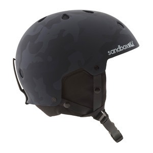 Sandbox Legend Snow Helmet - Black Camo