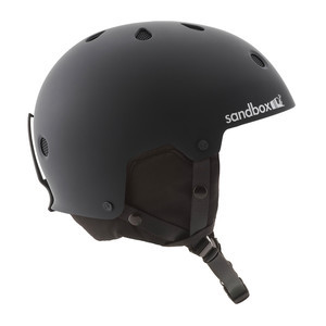Sandbox Legend Snow Helmet - Matte Black
