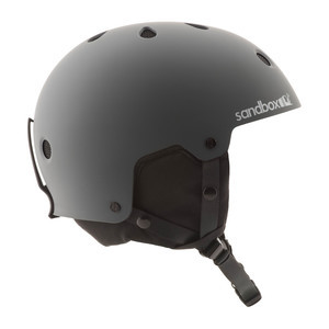 Sandbox Legend Snow Helmet - Matte Grey