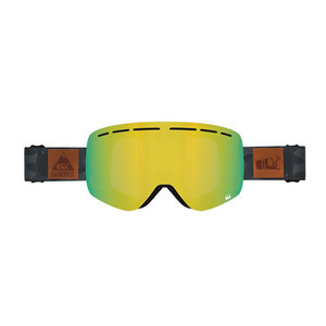 Sandbox Kingpin Snowboard Goggle 2018 - Black Camo / Gold Ion + Bonus Lens