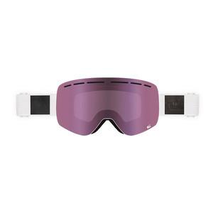 Sandbox Kingpin Snowboard Goggle 2018 - White / Pink + Bonus Lens