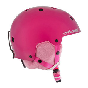 Sandbox Legend Ace Kids' Snowboard Helmet - Hot Pink