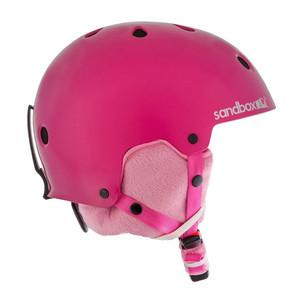 Sandbox Legend Ace Kids' Snowboard Helmet - Hot Pink