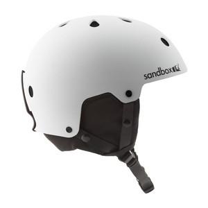 Sandbox Legend Snowboard Helmet - White