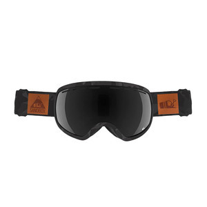 Sandbox The Boss Snowboard Goggle 2018 - Black Camo / Blackout + Bonus Lens