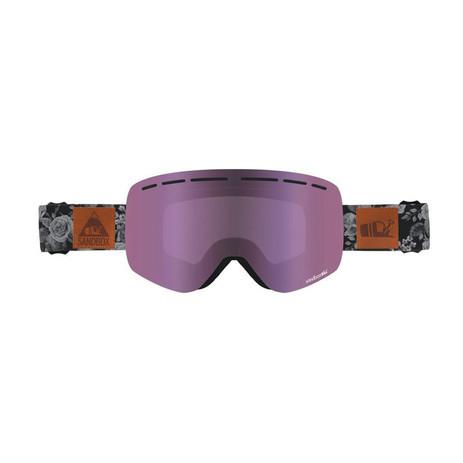 Sandbox Kingpin Snowboard Goggle 2019 - Rose Camo / Pink Ion + Bonus Lens