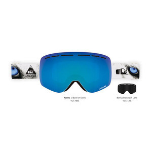 Sandbox Kingpin Snowboard Goggle 2019 - Arctic / Blue Ion + Bonus Lens
