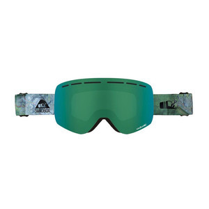 Sandbox Kingpin Snowboard Goggle 2019 - Backyard / Green Ion + Bonus Lens