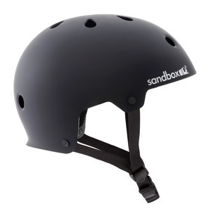 Sandbox Legend Skate Helmet - Matte Black