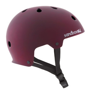 Sandbox Legend Skate Helmet - Matte Burgundy