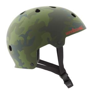 Sandbox Legend Skate Helmet - Matte Camo