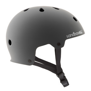 Sandbox Legend Skate Helmet - Matte Grey