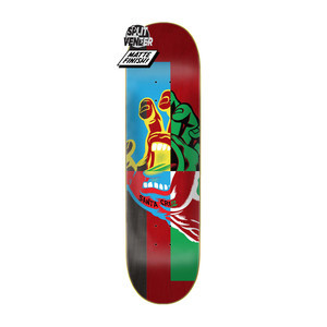 "Santa Cruz Handblocker 8.38"" Skateboard Deck"