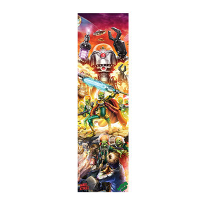MOB x Mars Attacks Skateboard Griptape - Poster