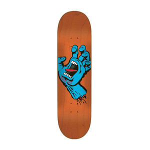 "Santa Cruz Minimal Hand 8.0"" Skateboard Deck"