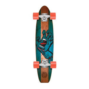 "Santa Cruz Stained Hand Pickle Jammer 6.8"" Cruiser Board"