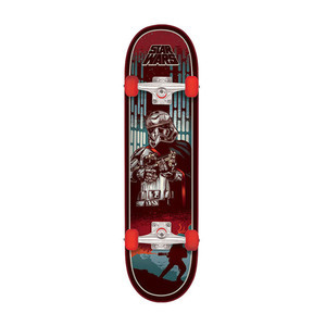 "Santa Cruz x Star Wars Episode VII Captain Phasma 7.25"" Complete Skateboard"