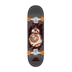 "Santa Cruz x Star Wars Episode VII BB-8 7.8"" Complete Skateboard"