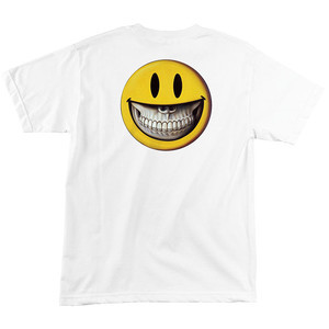 Santa Cruz Ron English Grin T-Shirt - White