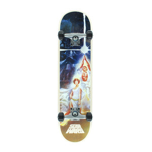 "Santa Cruz x Star Wars A New Hope 7.8"" Complete Skateboard"