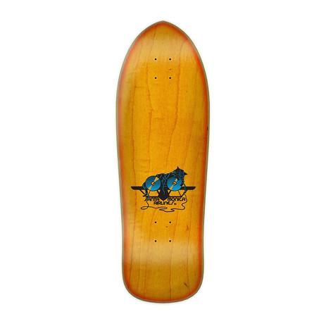 "Santa Cruz SMA Natas Kitten Re-Issue 9.89"" Skateboard Deck - Orange Sunburst"