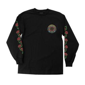 Santa Cruz Dressen Roses Long Sleeve T-Shirt - Black