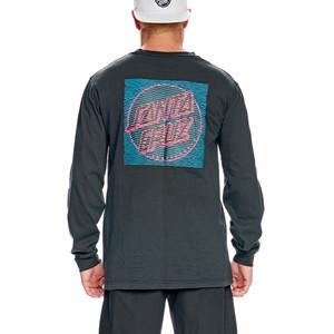 Santa Cruz Lines Long Sleeve T-Shirt - Black