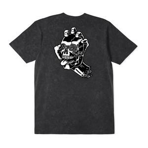 Santa Cruz Screaming Skull T-Shirt - Acid Black